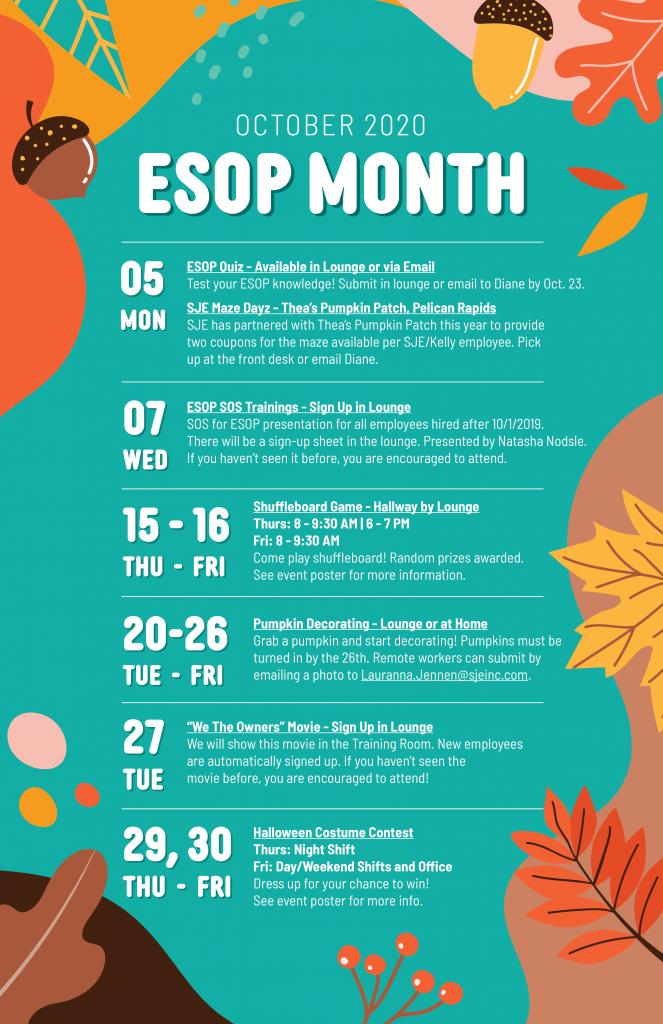 esop month poster