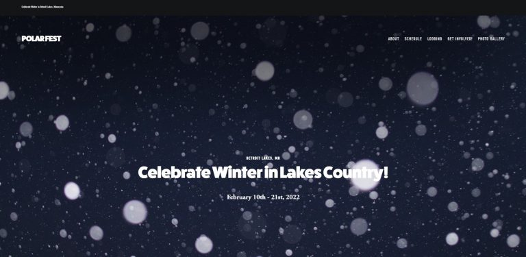 polar-fest-website
