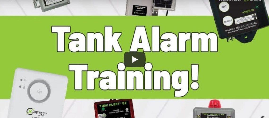 tank alarm training